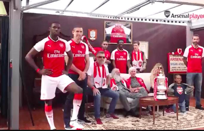 Arsenal Launch 2017/18 Home Kit - Ft. Robert Pires & Martin Keown