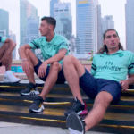 Arsenal Launch New Third Kit During Singapore Tour