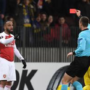 Alexandre Lacazette Apologises For Silly Red Card In BATE Borisov Defeat