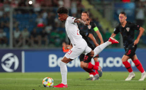 Reiss Nelson Bags A Goal As England Are Sent Home From European U21 Championship