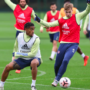 Images: Arsenal Train Ahead Of Wolves Clash As Trio Return